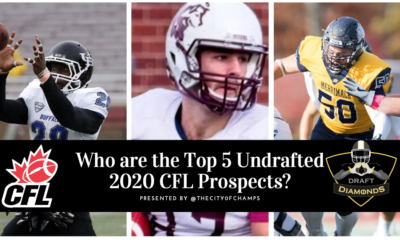 Top 5 Undrafted CFL Prospects
