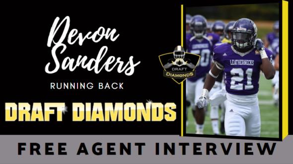 Devon Sanders Free Agent RB