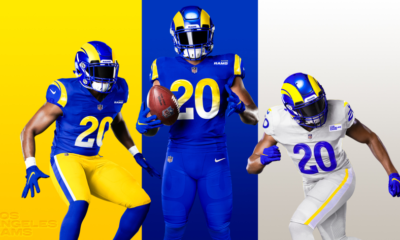 Los Angeles Rams new uniform