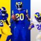 Los Angeles Rams new uniform
