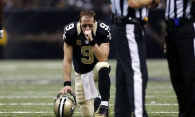 Drew Brees Kneeling Injured