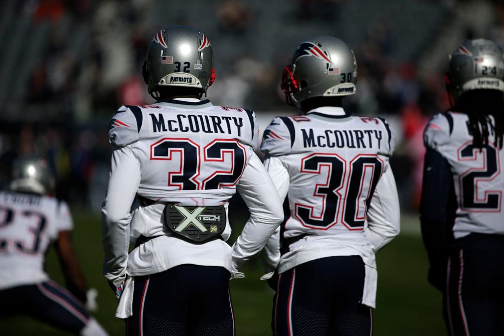 McCourty Twins want other NFL players to speak out