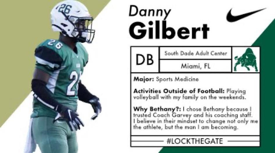 Danny Gilbert Jr. Bethany