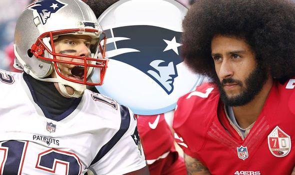 Colin Kaepernick Patriots
