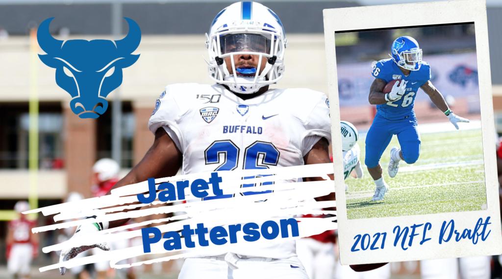 Jaret Patterson Buffalo