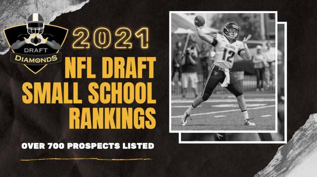 NFL Draft DIamonds Small School Rankings