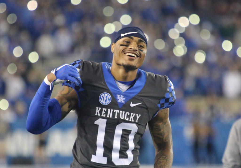 Kentucky RB A.J. Rose
