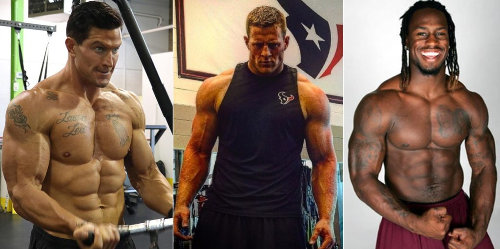 NFL Jacked players
