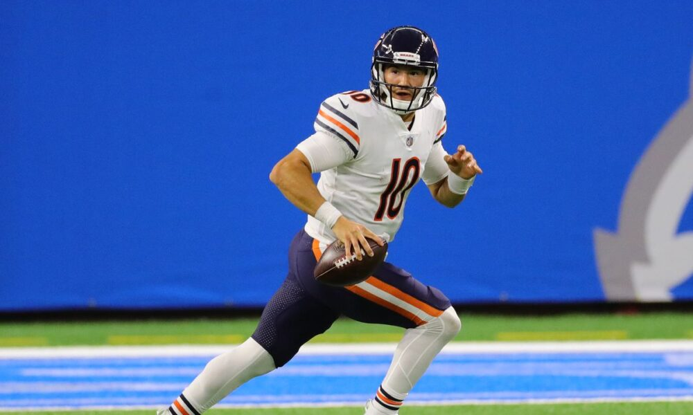 Mitch Trubisky Patriots trade