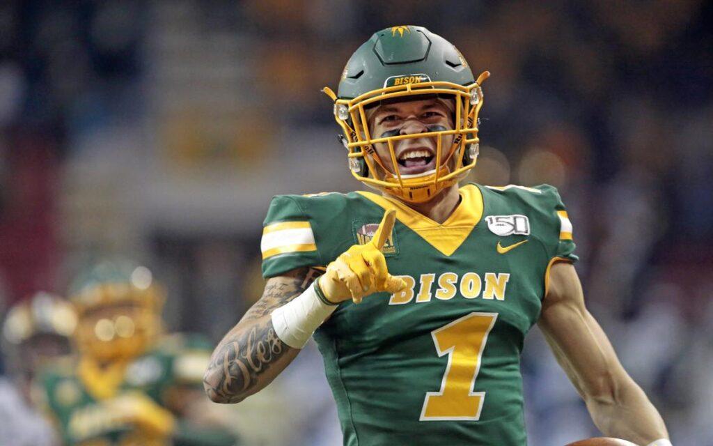 NDSU wide receiver Christian Watson