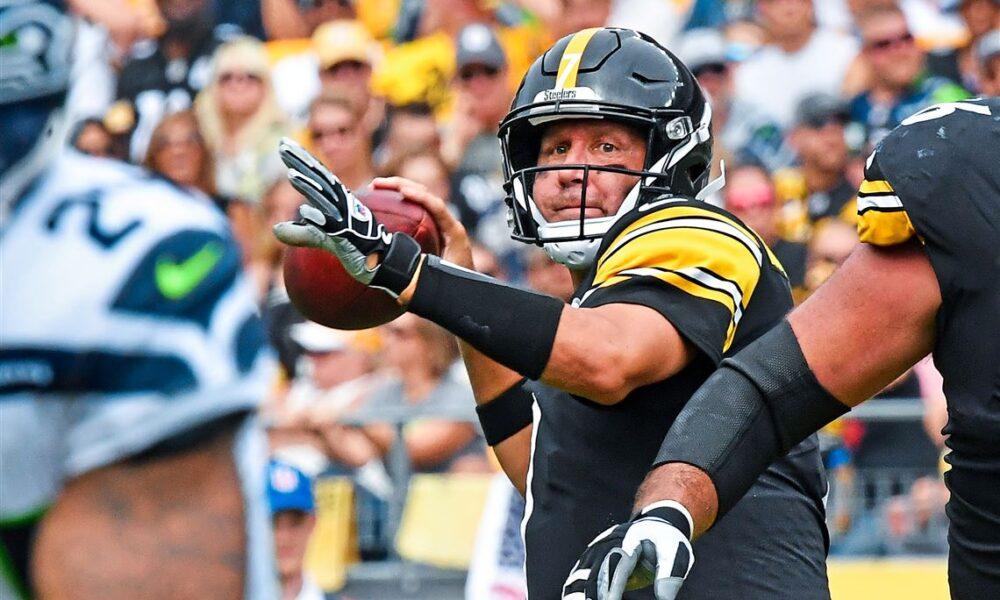 Ben Roethlisberger Steelers Quarterback Market upset alert Fantasy Football