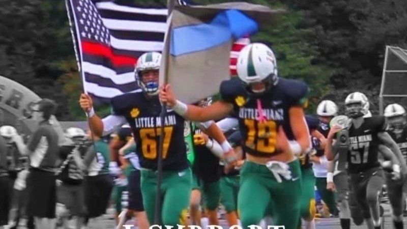 Football Players suspended first responders