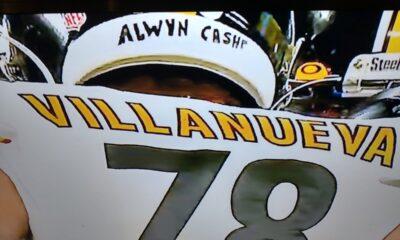 Alejandro Villanueva helmet controversy