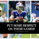 Put Respect on these QB's name