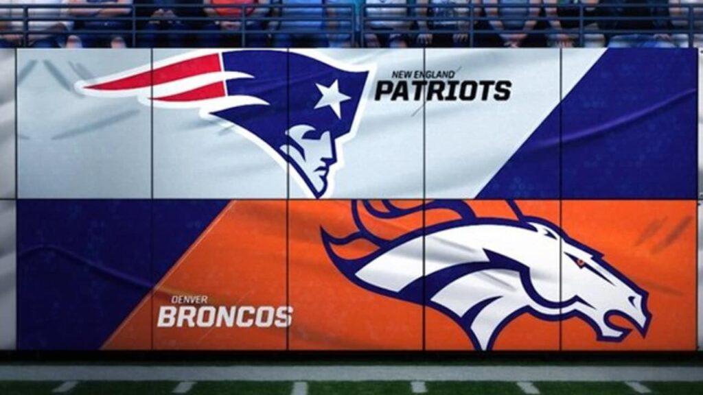 Broncos v. Patriots Schedule