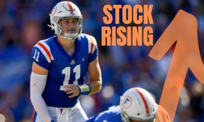 Kyle Trask Stock Rising