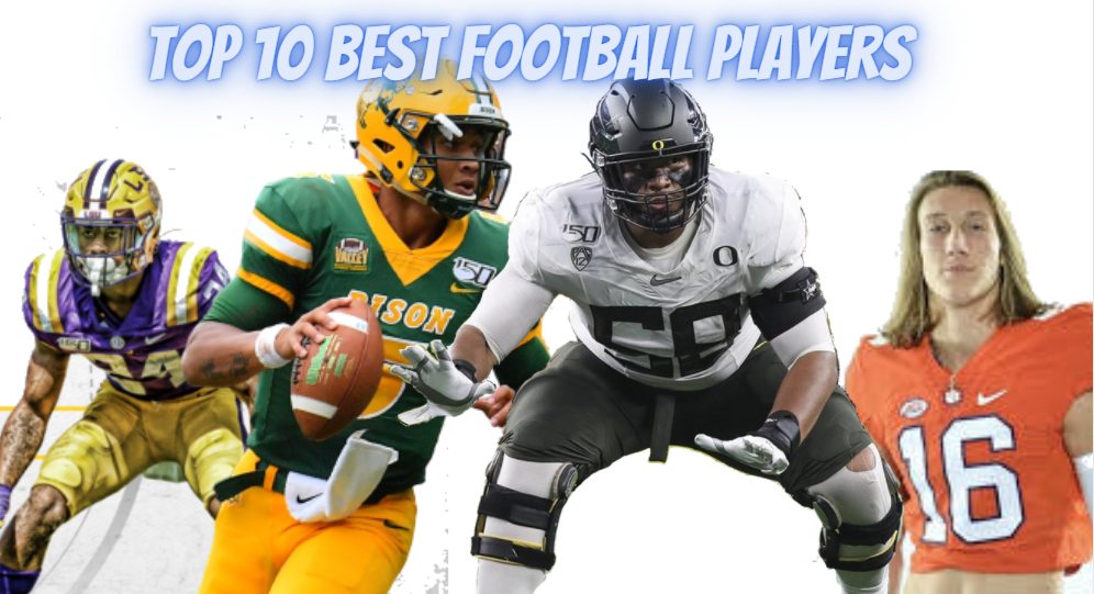 Top 10 football players in college football