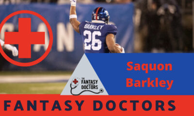 Saquon Barkley Fantasy Doctors injury update