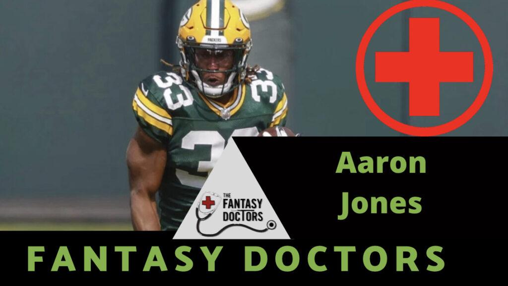 Aaron Jones injury update Packers