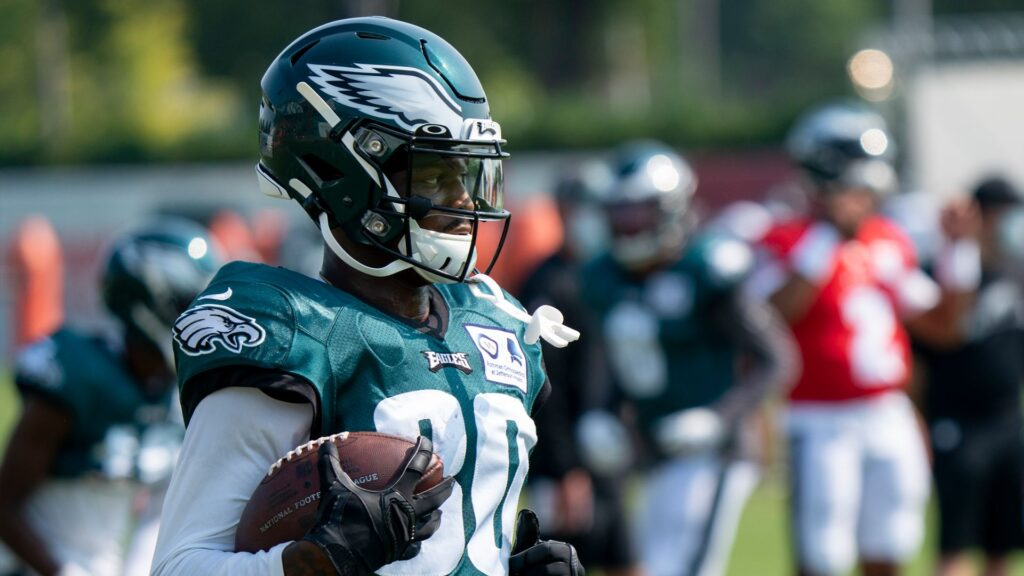Quez Watkins Eagles Rookie