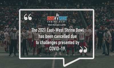 East-West Shrine Bowl canceled
