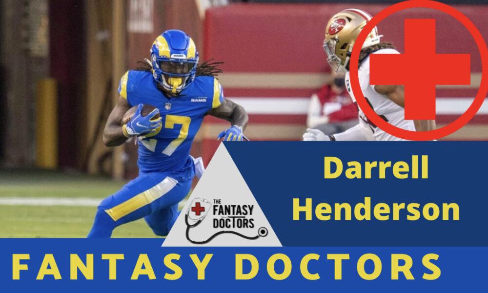 Darrell Henderson Fantasy Doctors