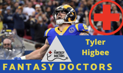 Tyler Higbee Rams Fantasy Doctors Injury Update