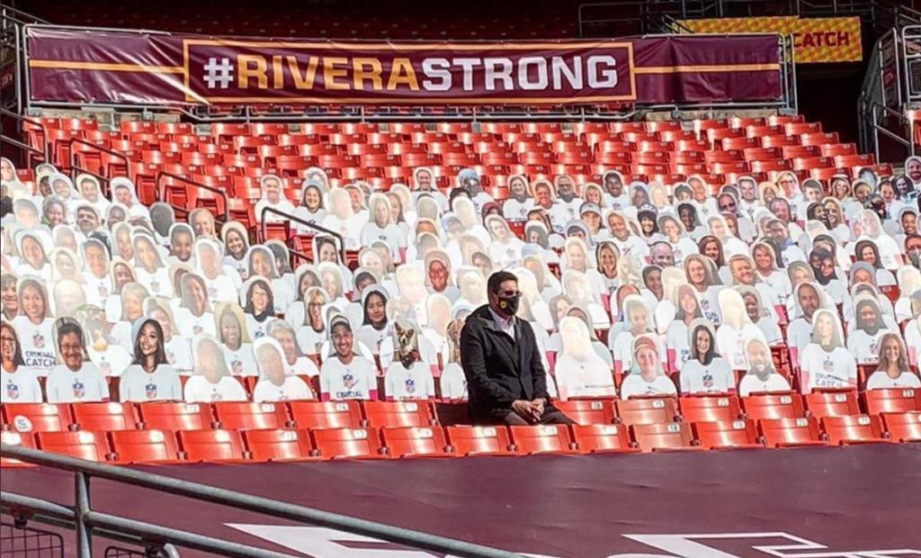 Ron Rivera Strong Washington Football