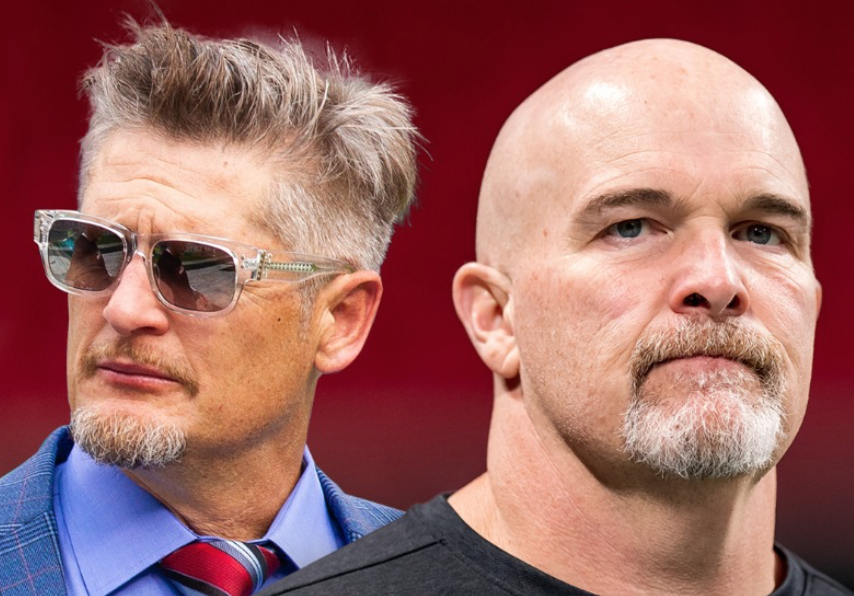 Falcons fire Dan Quinn and GM Thomas Dimitroff