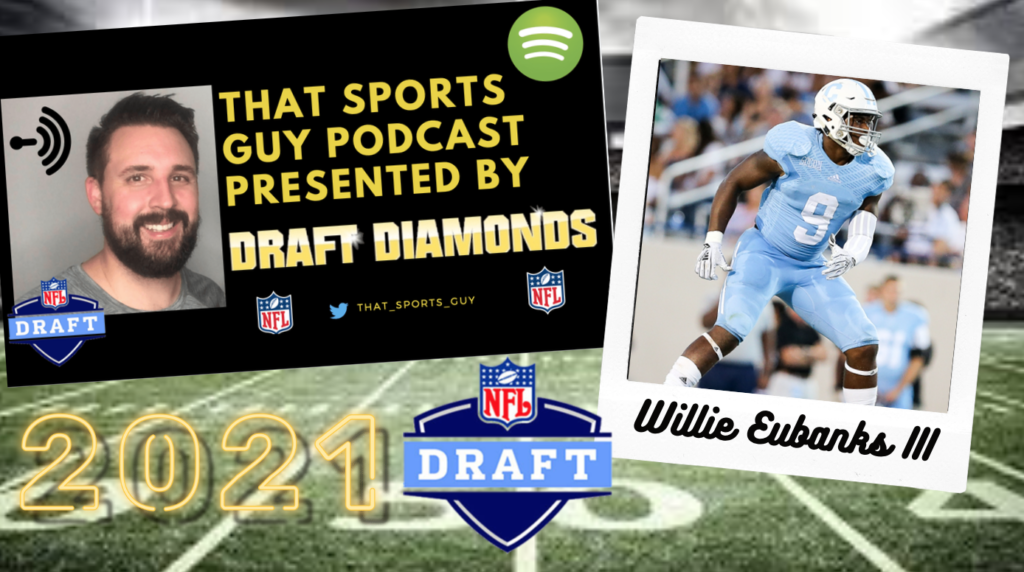 Willie Eubanks III That Sports Guy Podcast