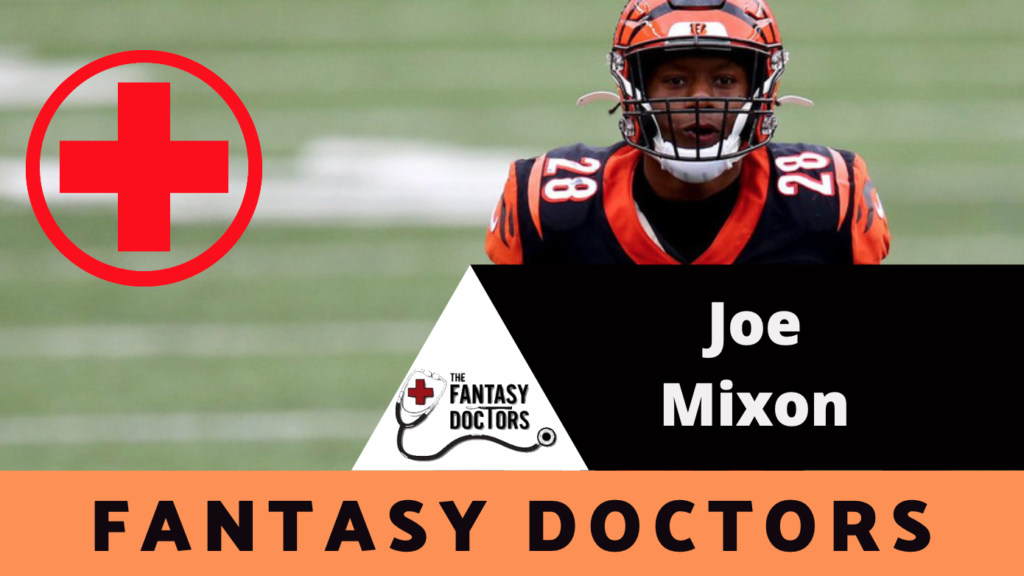 Joe Mixon Bengals Injury Update Foot Fantasy Doctors