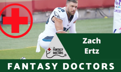 Zach Ertz Eagles Fantasy Doctors Injury Update