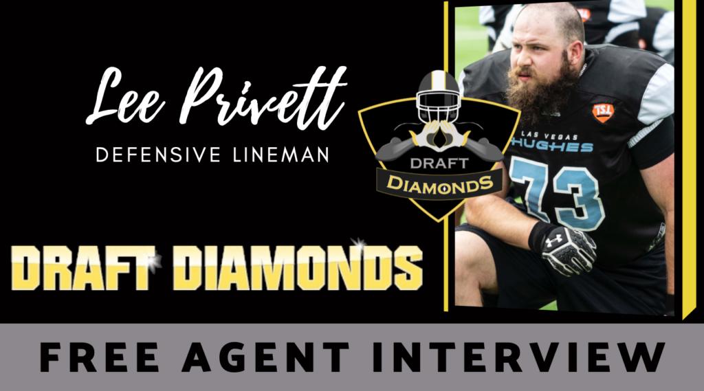 Lee Privett Free Agent Defensive Lineman