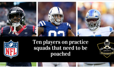 10 practice squad players