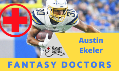 Austin Ekeler Fantasy Doctors Injury Update