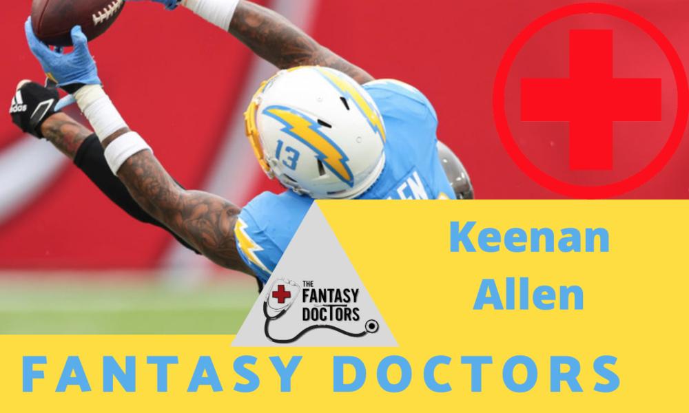 Keenan Allen back injury update