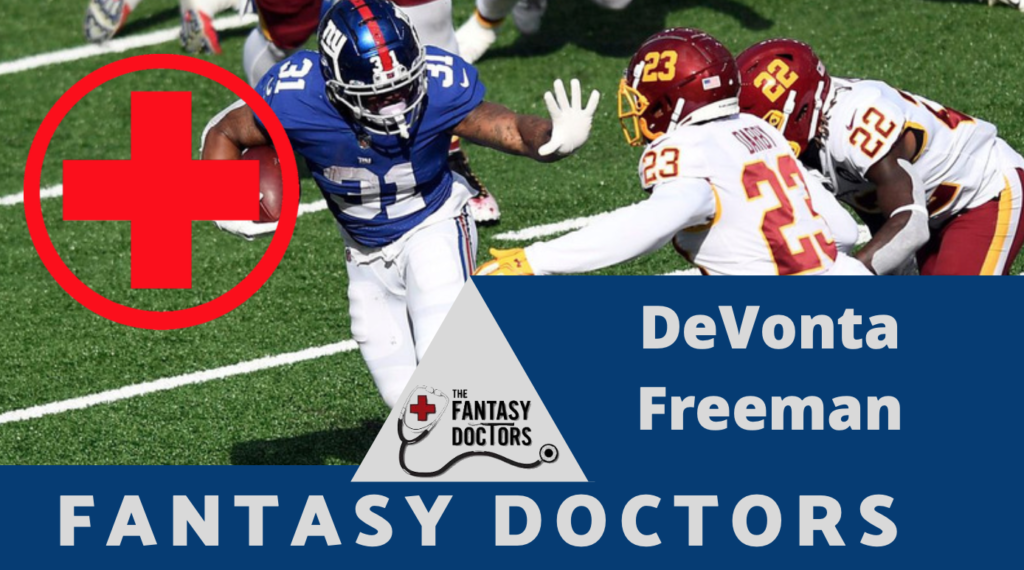 DeVonta Freeman Fantasy Doctors Injury Update