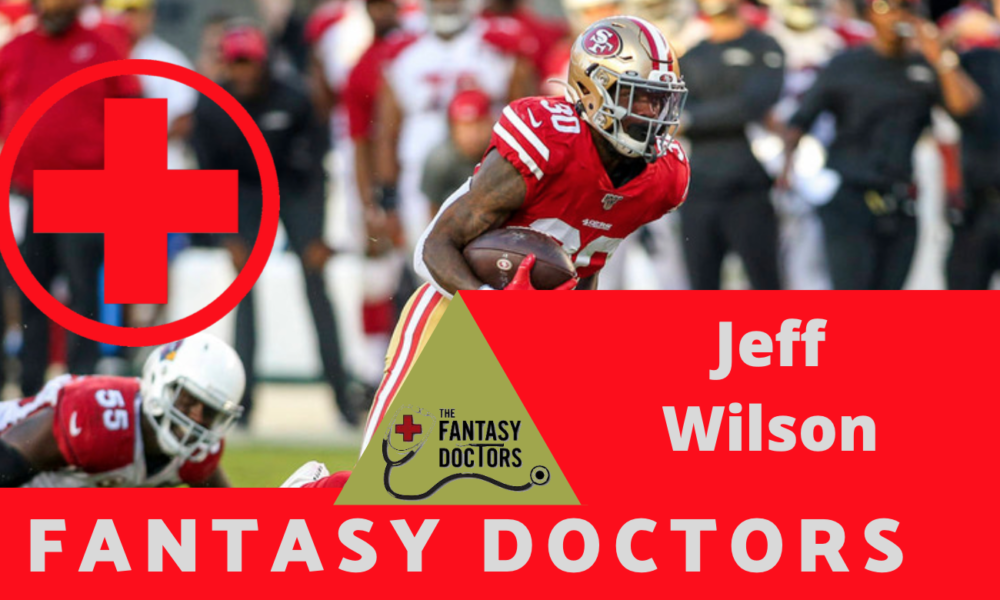 Jeff Wilson Fantasy Doctors Ankle INjury