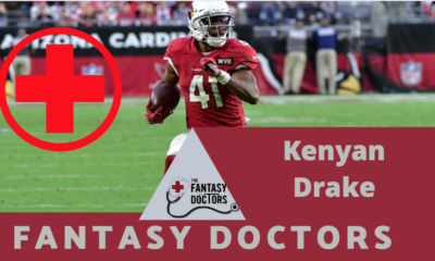 Kenyan Drake Cardinals Injury Report