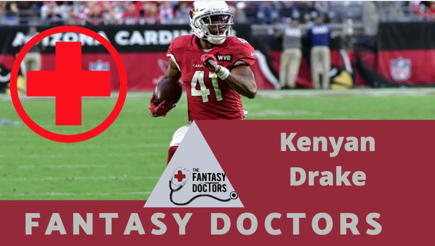 Kenyan Drake Cardinals Injury Report