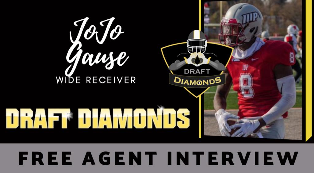 JoJo Gause Free Agent wide receiver