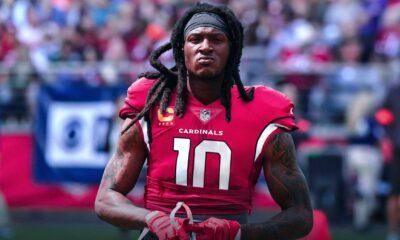 DeAndre Hopkins fantasy football rankings Cardinals