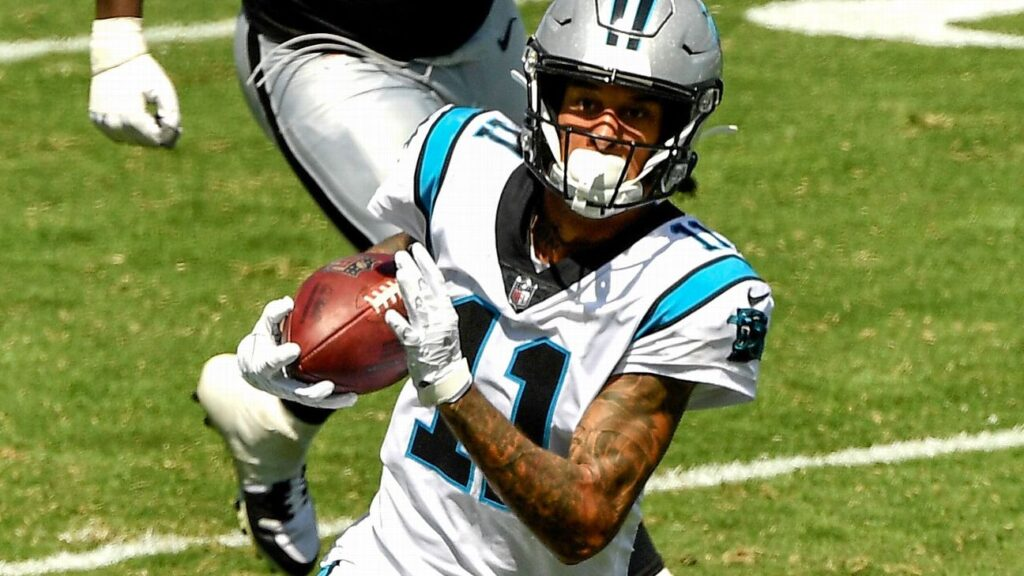 Robby Anderson Panthers Waiver Wire Adds/Drops