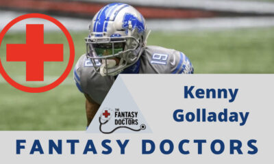 Kenny Golladay Fantasy Doctors INjury update