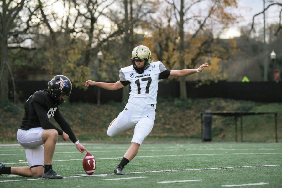 Vanderbilt women's soccer player to be active at kicker vs. Missouri