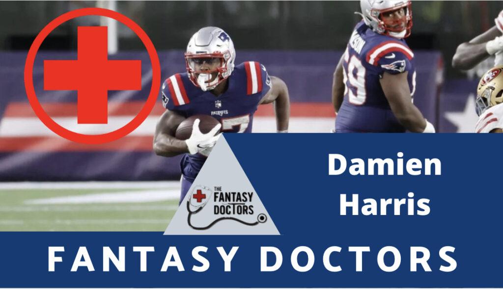 Damien Harris NFL draft fantasy Doctors, draft