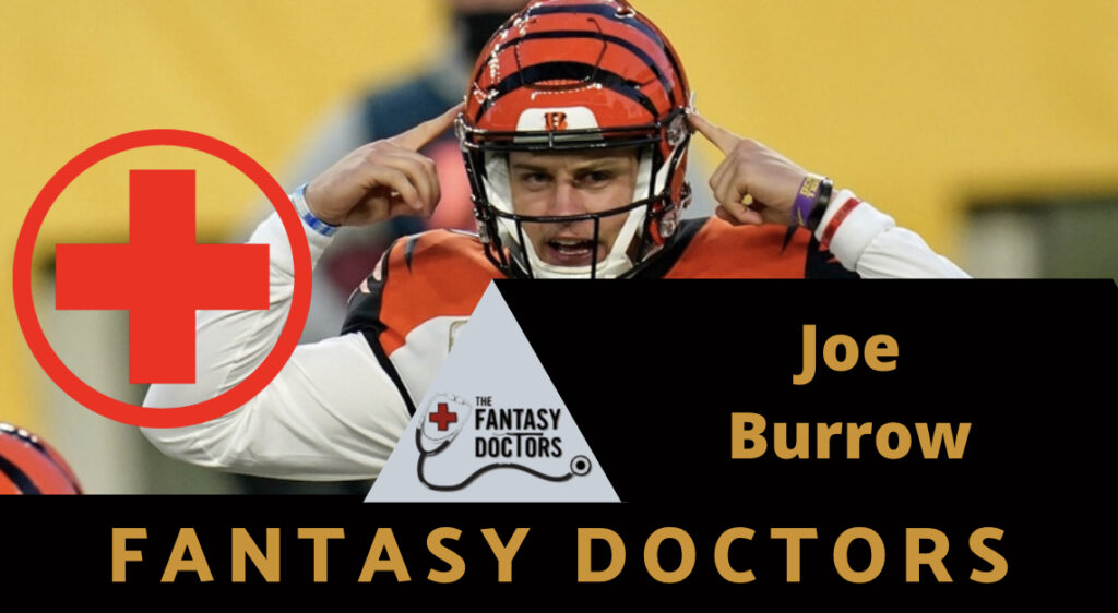 Joe Burrow Bengals Fantasy Doctors