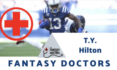 T.Y Hilton Fantasy Doctors injury update