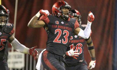 Darren Hall San Diego State Unviersity NFL Draft