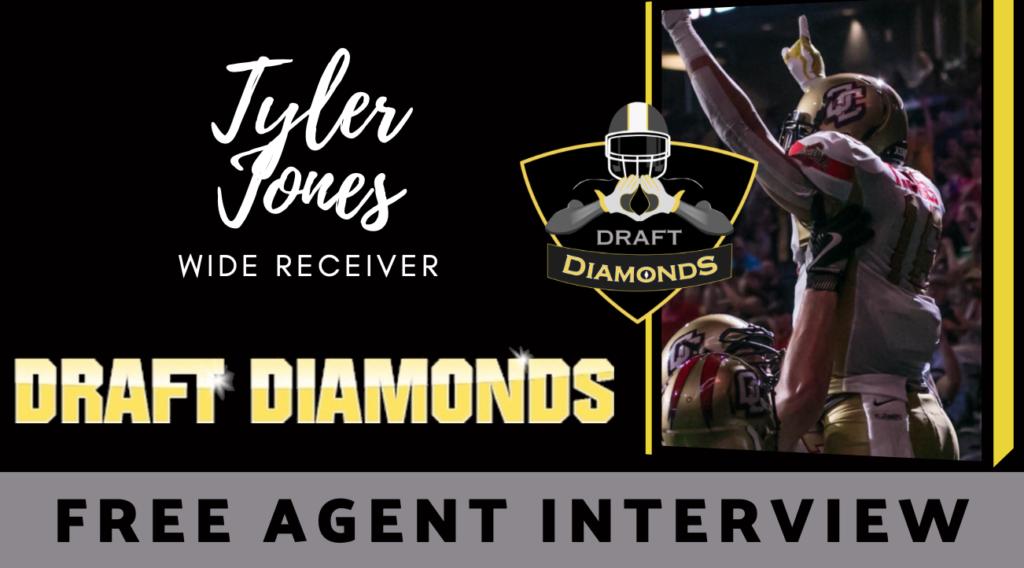 Tyler Jones Wide Receiver Free Agent